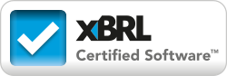 XBRL Certified Software logo